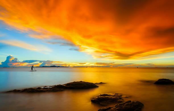 Landschaft des Strandes. – Foto