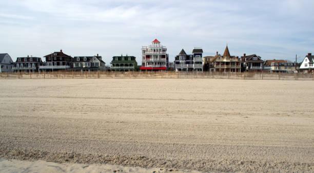 Landschaft der Beach Street Cape kann NJ – Foto