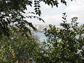 Beautiful landscape of Marmara Sea and Bosphorus in a Cloudy Day in İstanbul