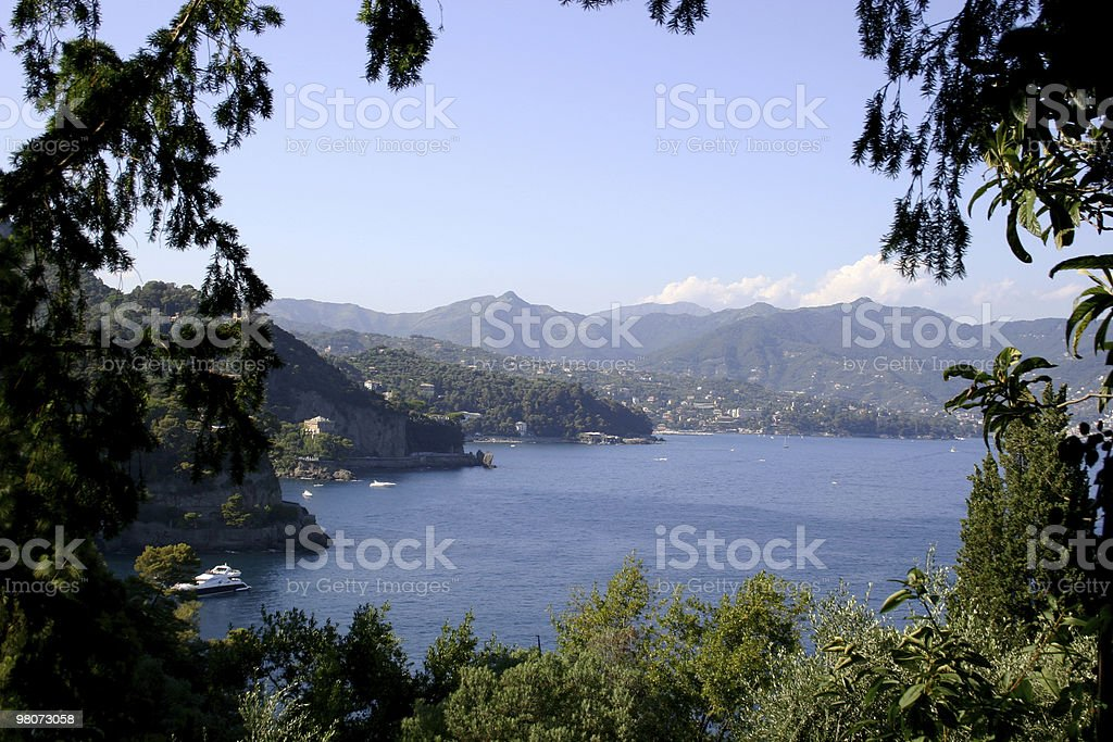 Landscape of coastline royalty-free stock photo