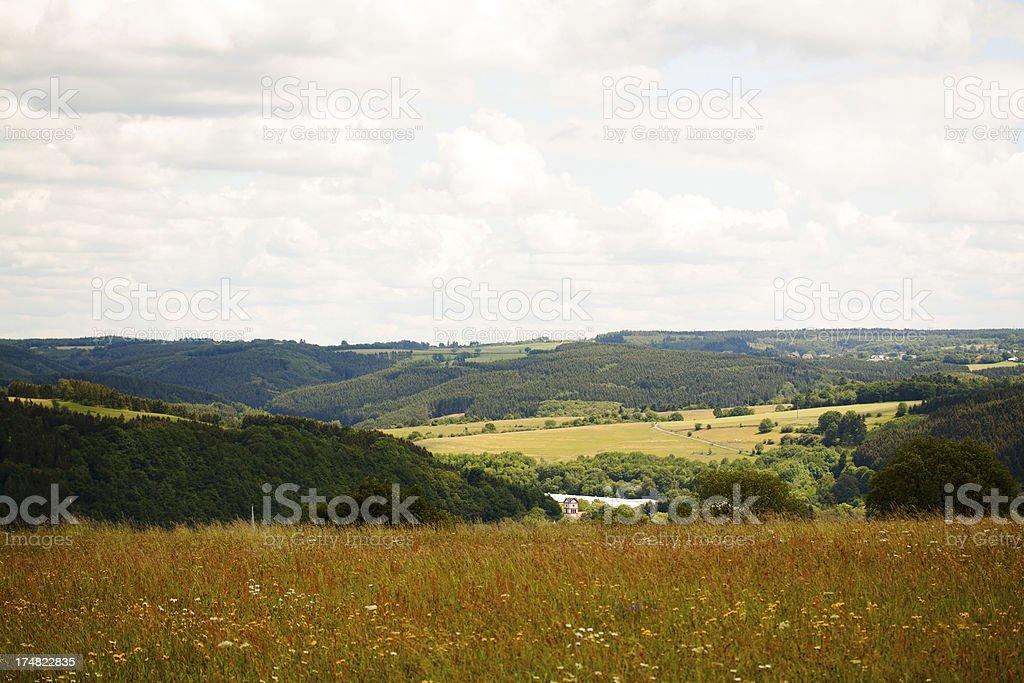 Landscape of Eifel royalty-free stock photo