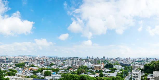 福岡市の風景 - 日本 風景 ストックフォトと画像