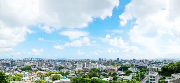 福岡市の風景 - 未来都市 ストックフォトと画像