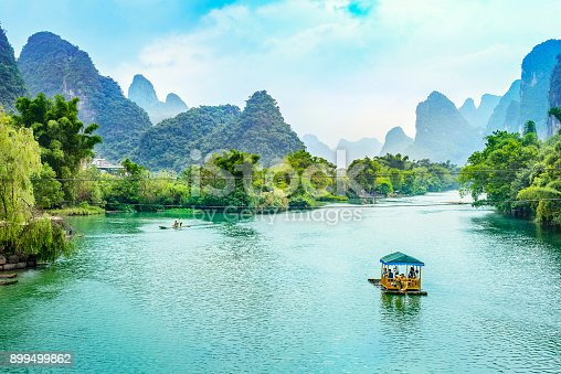 istock Landscape of Guilin 899499862
