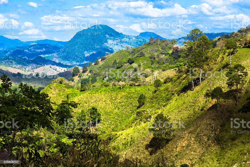 Landschaft von Honduras – Foto