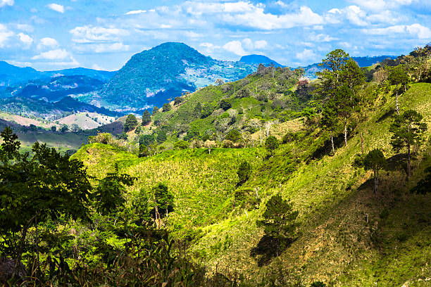 Landscape of Honduras Landscape of Honduras honduras stock pictures, royalty-free photos & images