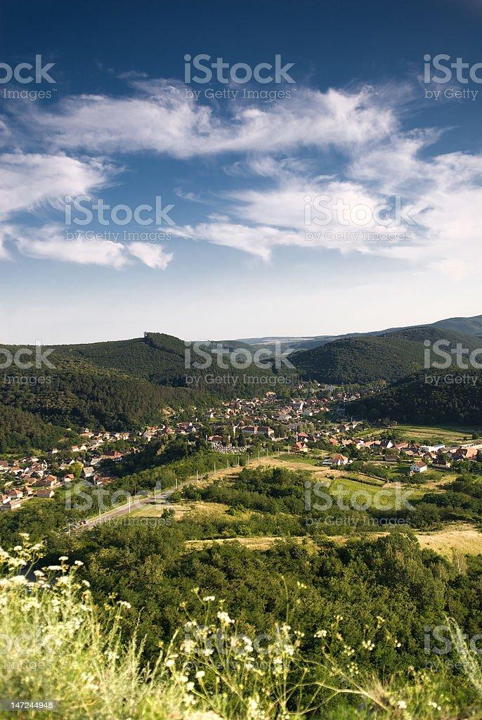 Landschaft aus Ungarn, Sirok – Foto