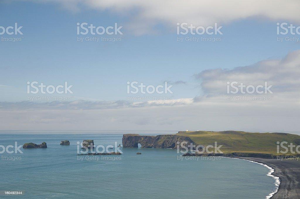 Landscape of Iceland royalty-free stock photo