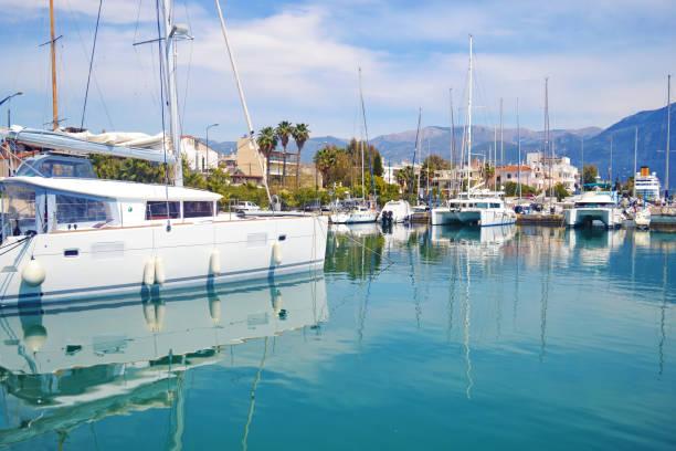 landscape of Kalamata Peloponnese Greece stock photo
