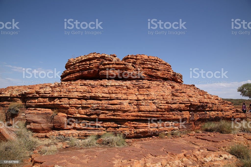 Landscape of kings canyon