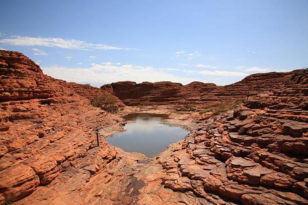 Landscape of kings canyon stock photo