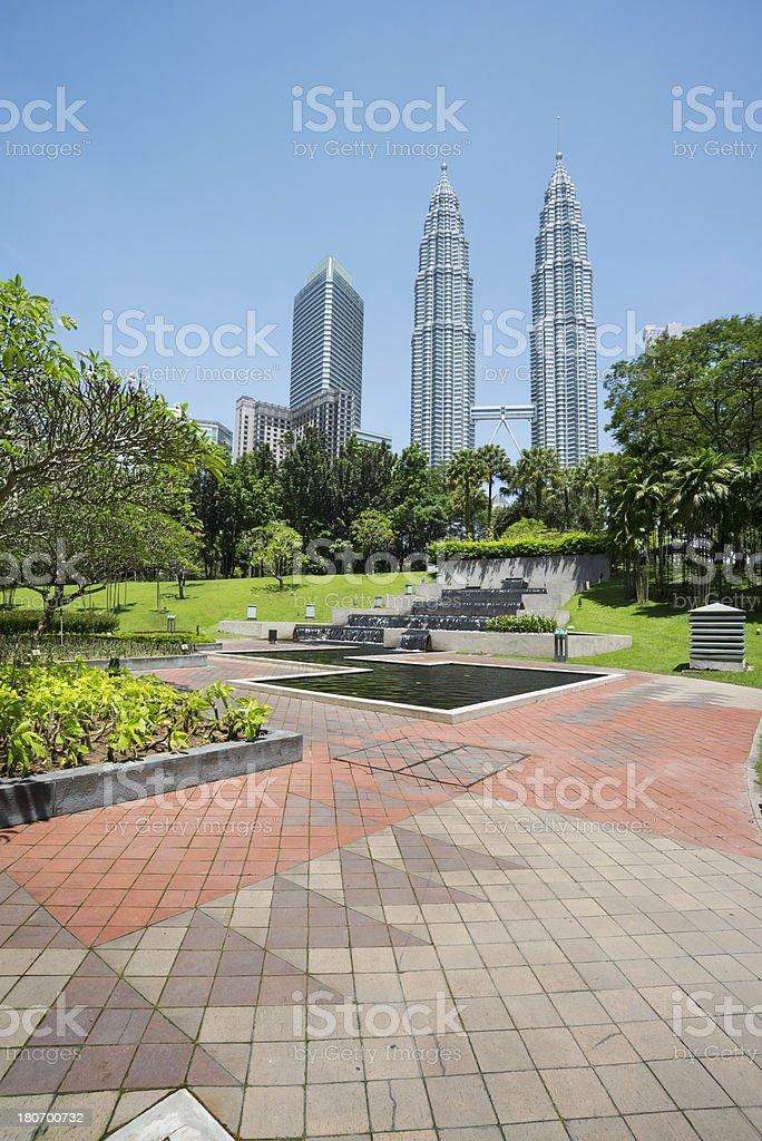 landscape of kuala lumper royalty-free stock photo