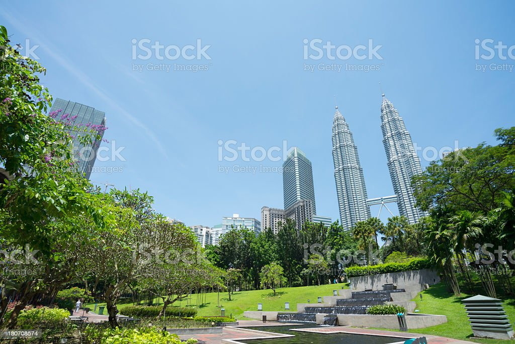 landscape of kuala lumper royalty-free stock photo