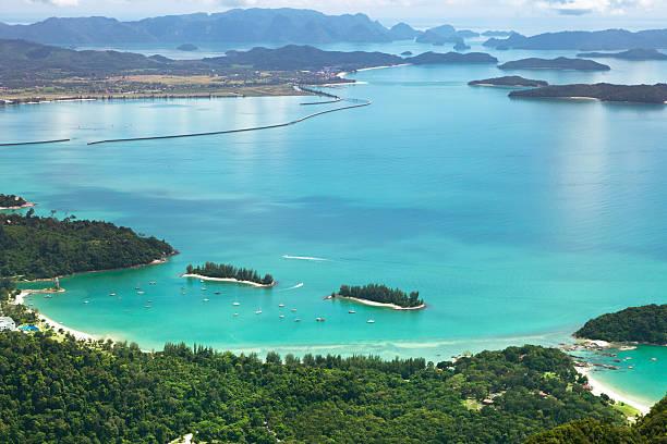Landscape of Langkawi Island stock photo