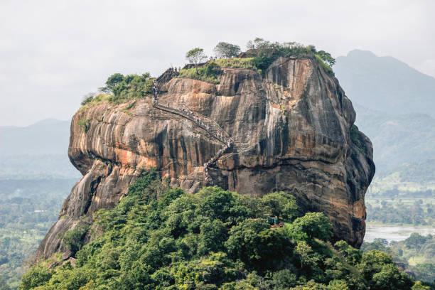 Landschaft des Löwenfelsens Sigiriya – Foto