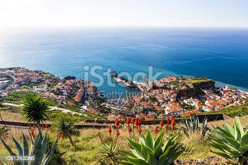 Landscape of Madeira from Miradouro da Torre, Portugal