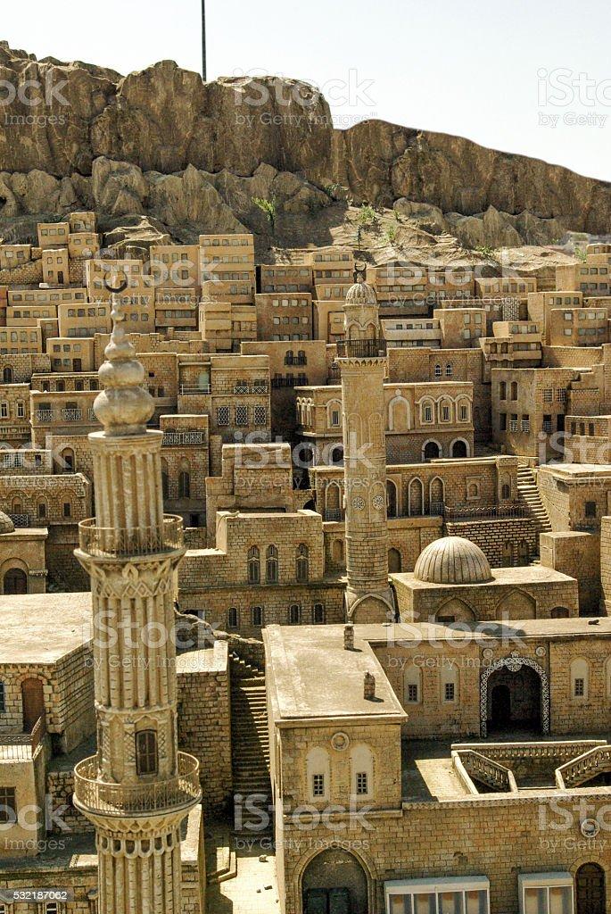 Landscape of Mardin stock photo