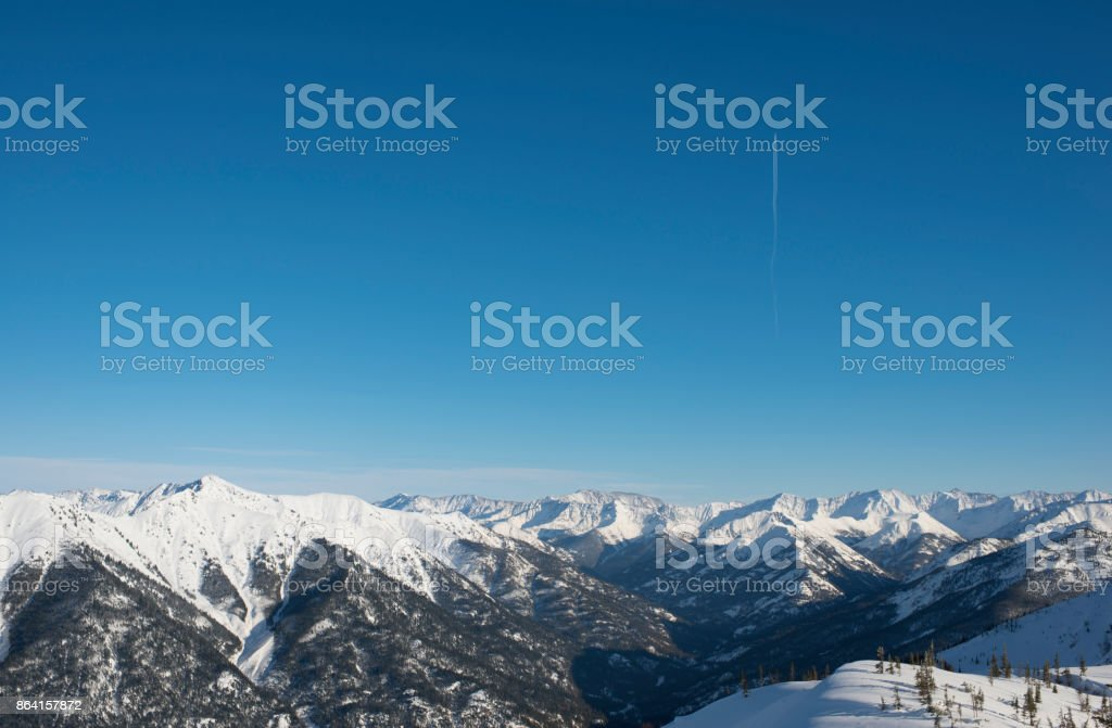 Landscape of mountain pass royalty-free stock photo