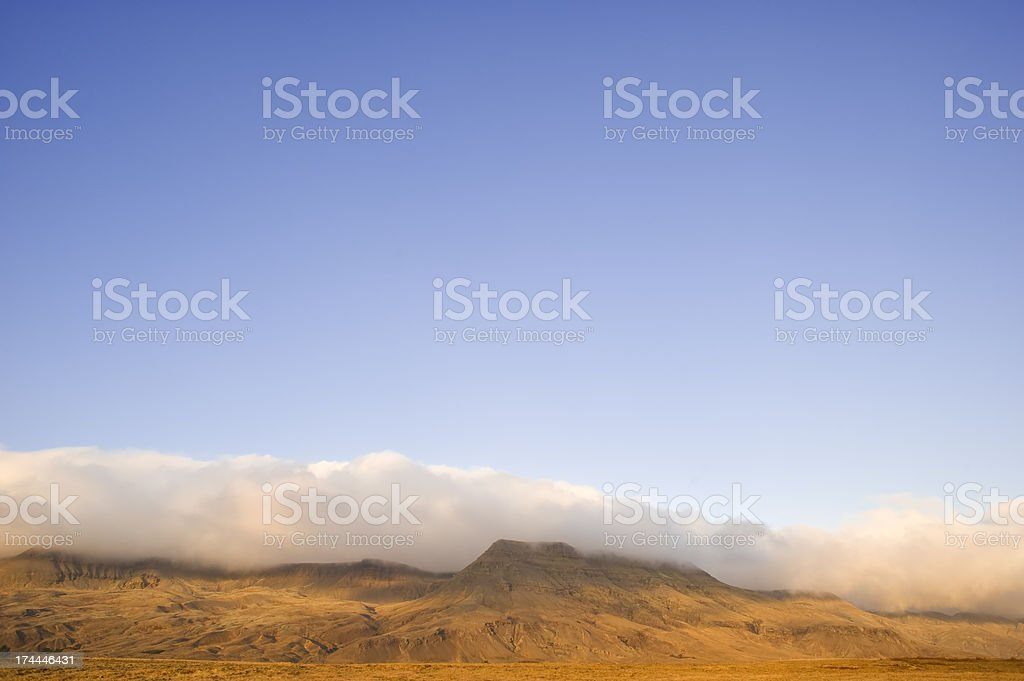 Landscape of mountains stock photo