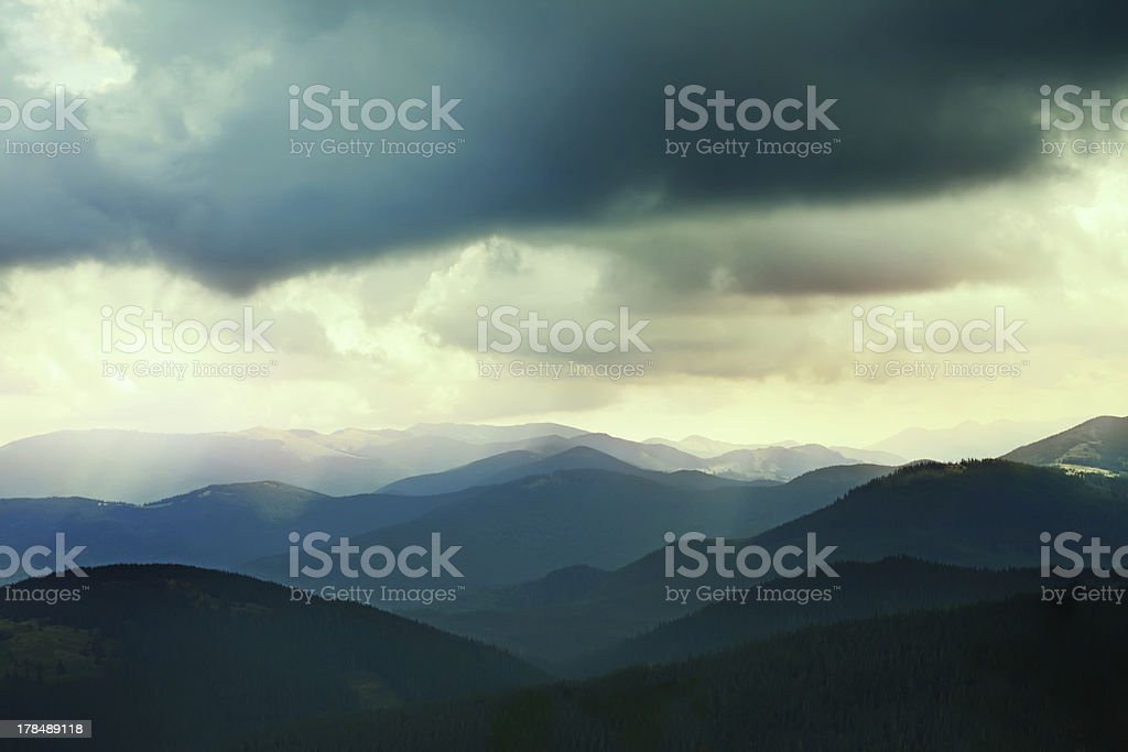 Landscape of nature royalty-free stock photo