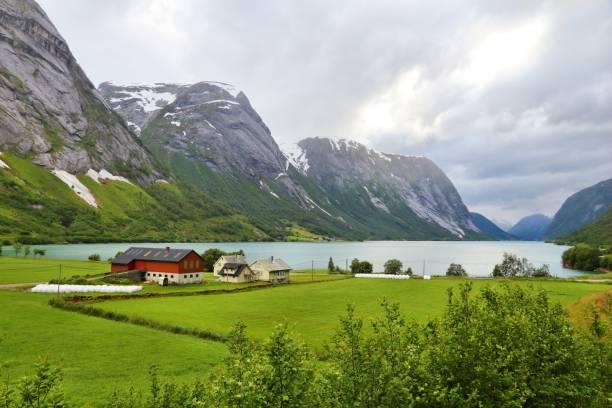 Landschaft Norwegens – Foto