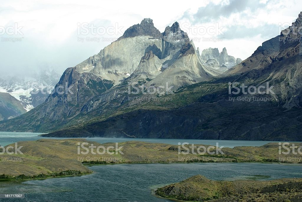 Landscape of Patagonia, Chile royalty-free stock photo
