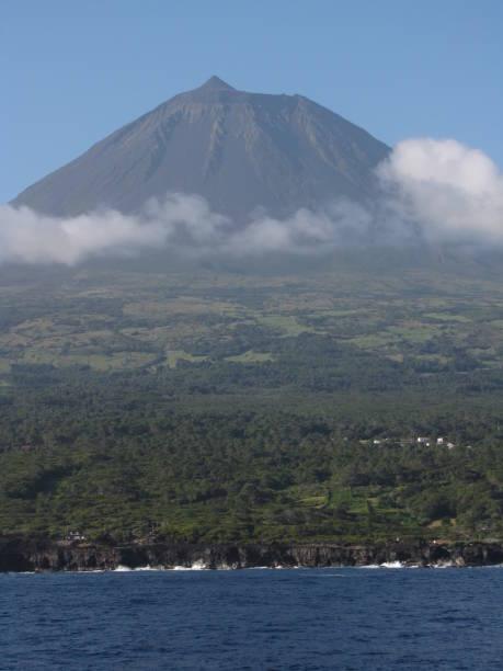 Landscape of Pico Island - fotografia de stock