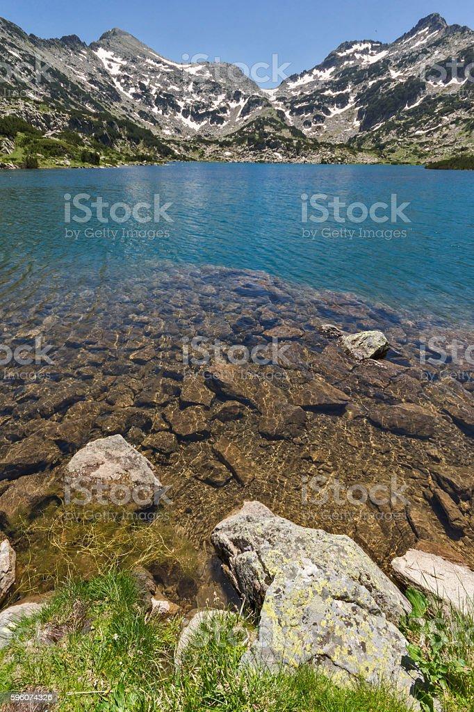 Landscape of Popovo lake, Pirin Mountain, Bulgaria royalty-free stock photo