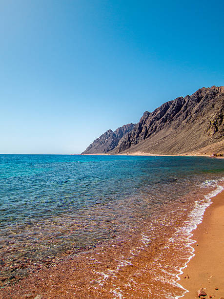 Landscape of Red Sea, Egypt stock photo
