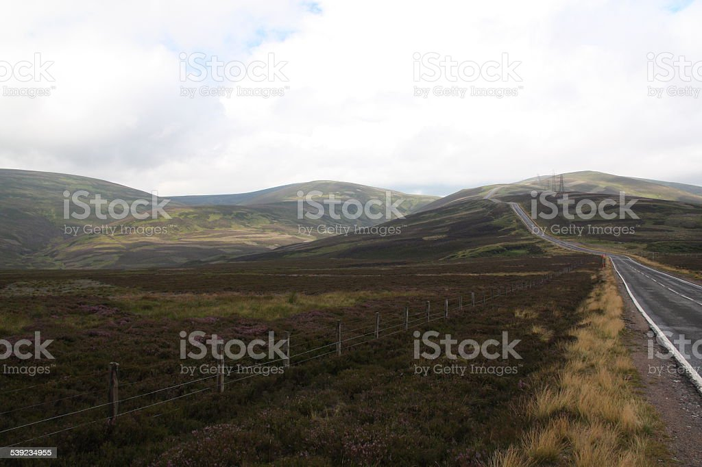 Landscape of Scotland royalty-free stock photo