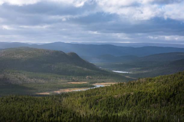 Paysage de vallée superbe à Gros Morne, Terre-Neuve et Labrador - Photo