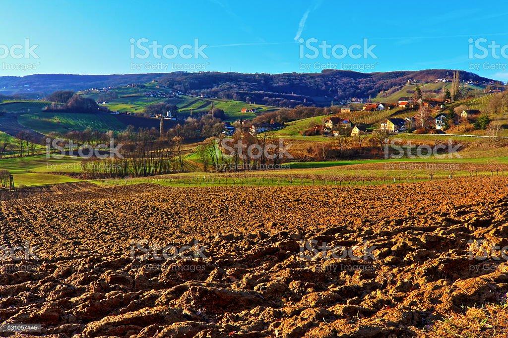 Landschaft der Steiermark – Foto