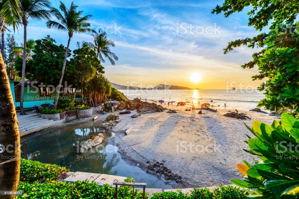 Landscape of Thailand stock photo