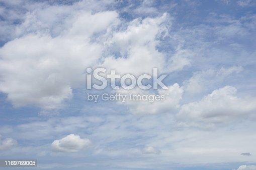 istock Landscape of the clear sky 1169769005