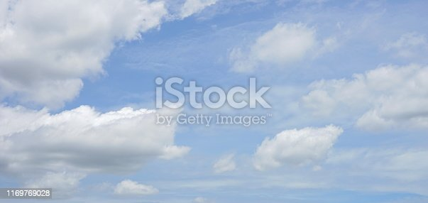 istock Landscape of the clear sky 1169769028