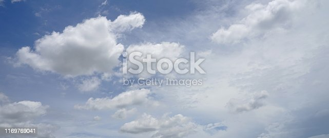 istock Landscape of the clear sky 1169769041