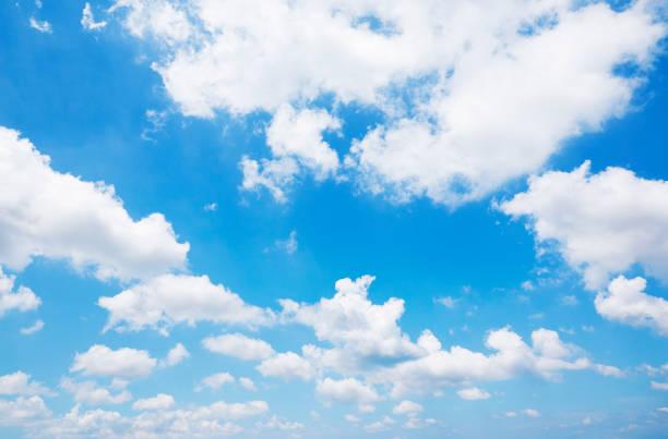 맑은 하늘의 풍경 - 구름 뉴스 사진 이미지