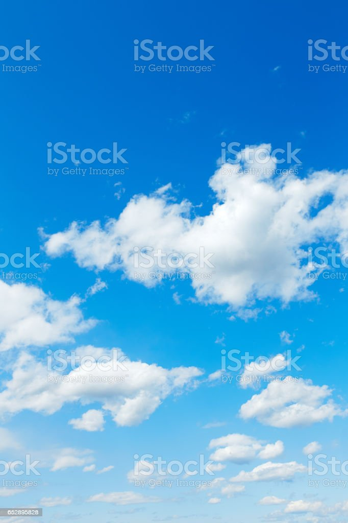 landscape of the clear sky stock photo