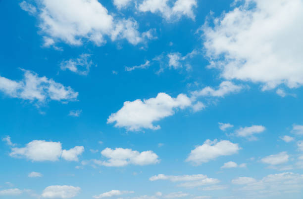landscape of the clear sky - cloud sky stock pictures, royalty-free photos & images