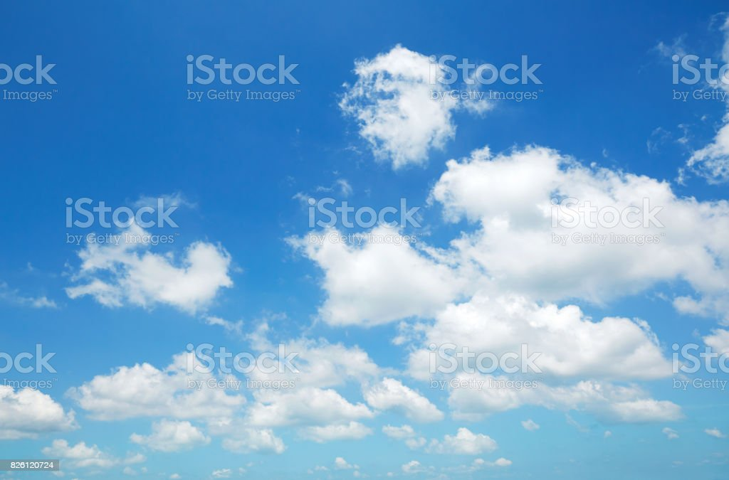 landscape of the clear sky royalty-free stock photo