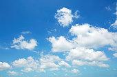 明確な空の風景