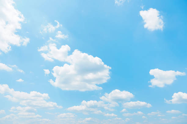 明確な空の風景 - 雲 ストックフォトと画像