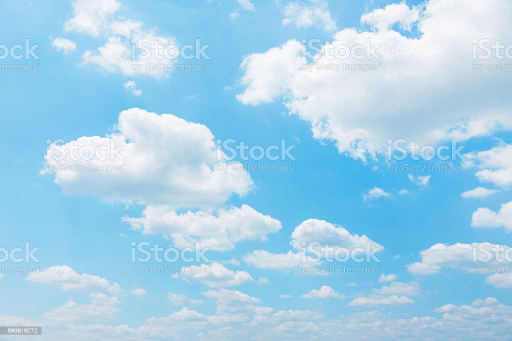 明確な空の風景 ストックフォト
