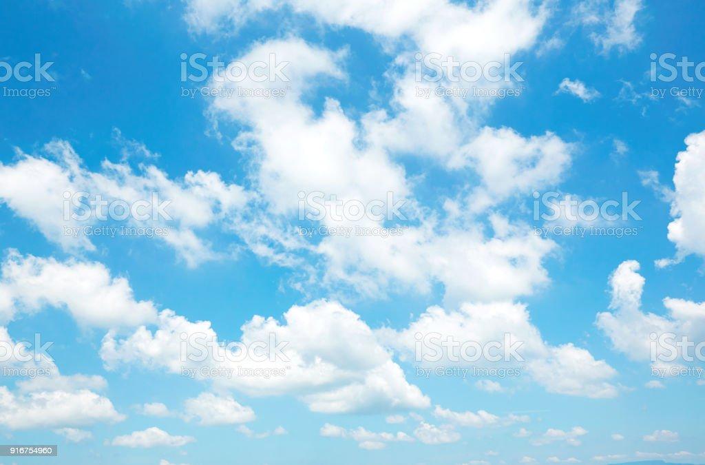 Landschaft von den klaren Himmel – Foto