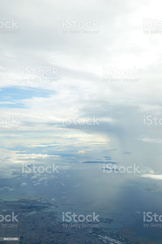 landscape of the cloudy sky royalty-free stock photo