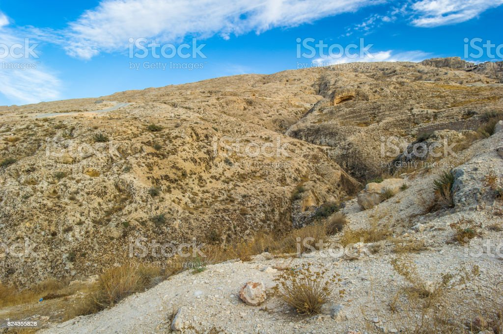 Landscape of the mountains stock photo