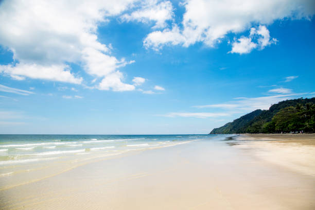 Landscape of the ocean and islands. Beautiful view of ocean and islands, Asia, Thailand, Koh Chang. koh chang stock pictures, royalty-free photos & images