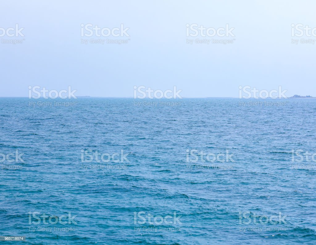 landscape of the sea and sky - Royalty-free Beauty Stock Photo