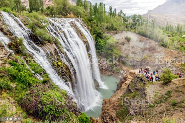 Landschap Van De Tortumwaterval Erzurum Stockfoto en meer beelden van Azië