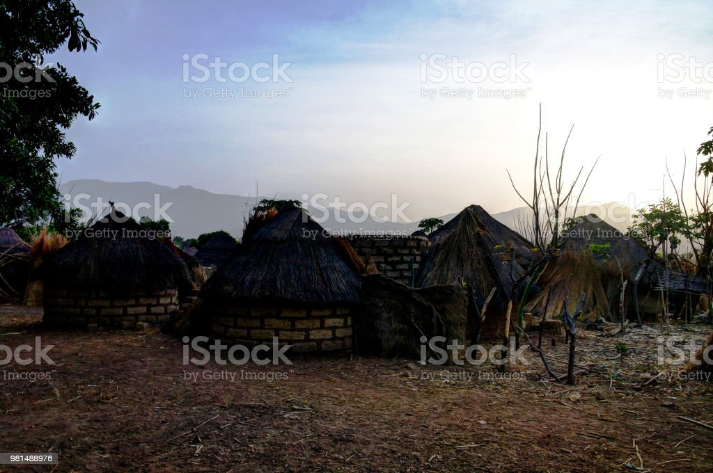 Landscape of the Village of Dowayo tribe, Poli, Cameroon